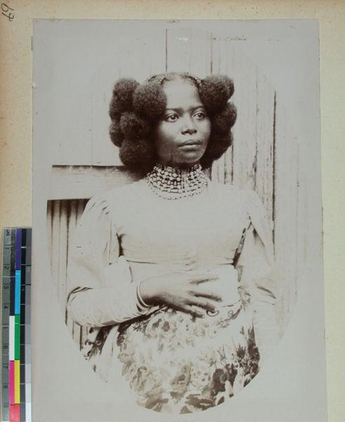Photo Source: Madagascan Woman - Wikipedia