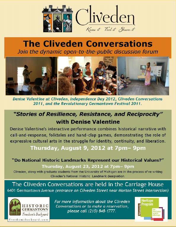 Cliveden Conversations - Aug 9, 2012 -  www.Cliveden.org