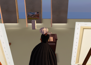 Avatar (storyteller resident) Denise Valentine as Sojourner Truth in SL9B