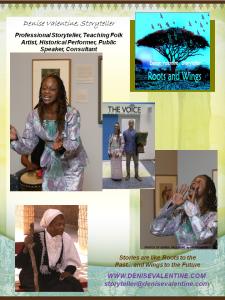 Denise Valentine, Storyteller - www.denisevalentine.com
